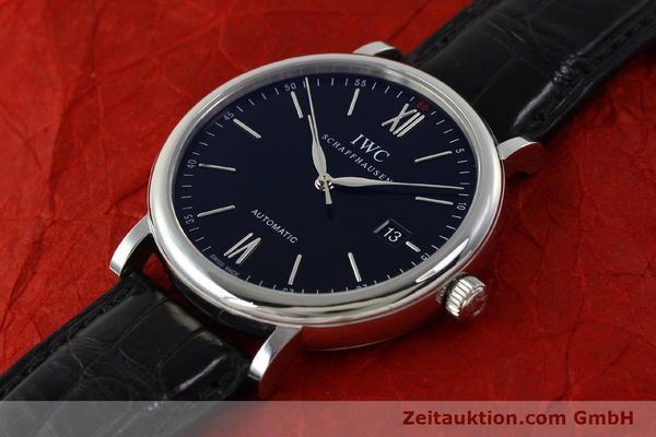 Used luxury watch IWC Portofino steel automatic Kal. 35110 Ref. 3565  | 150071 01
