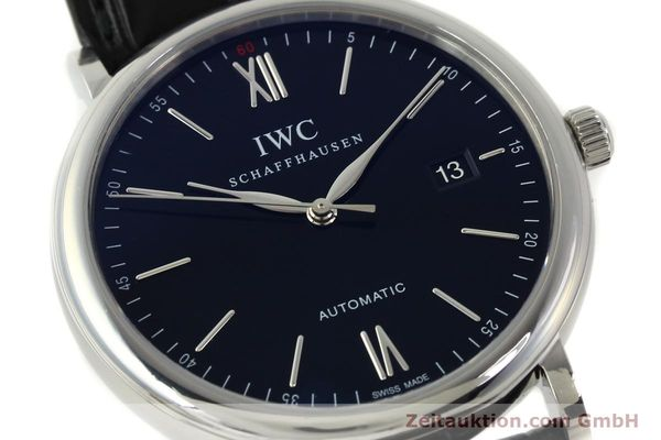 Used luxury watch IWC Portofino steel automatic Kal. 35110 Ref. 3565  | 150071 02