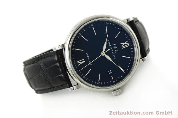 Used luxury watch IWC Portofino steel automatic Kal. 35110 Ref. 3565  | 150071 03