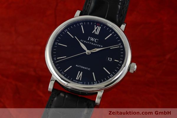 Used luxury watch IWC Portofino steel automatic Kal. 35110 Ref. 3565  | 150071 04