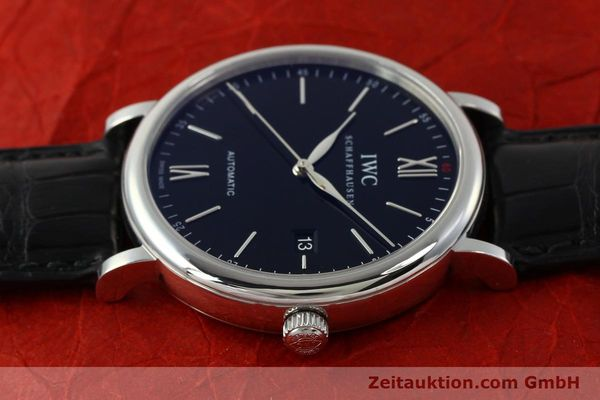 Used luxury watch IWC Portofino steel automatic Kal. 35110 Ref. 3565  | 150071 05