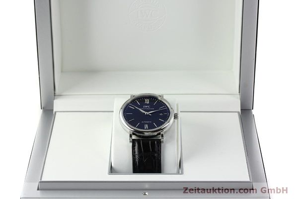 Used luxury watch IWC Portofino steel automatic Kal. 35110 Ref. 3565  | 150071 07