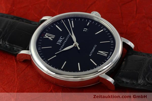 Used luxury watch IWC Portofino steel automatic Kal. 35110 Ref. 3565  | 150071 16