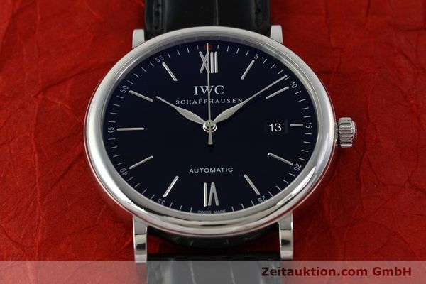 Used luxury watch IWC Portofino steel automatic Kal. 35110 Ref. 3565  | 150071 17