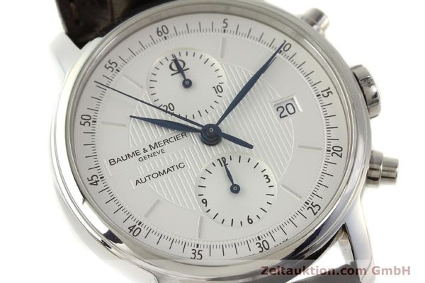 Used luxury watch Baume & Mercier Classima chronograph steel automatic Kal. BM13750 ETA 7750 Ref. 65560  | 150073 02