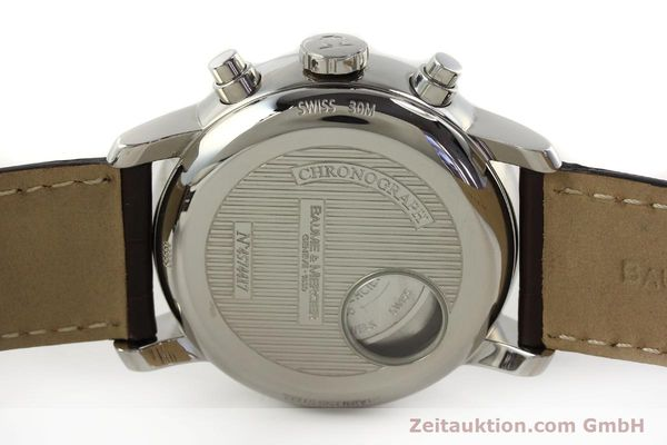 Used luxury watch Baume & Mercier Classima chronograph steel automatic Kal. BM13750 ETA 7750 Ref. 65560  | 150073 09