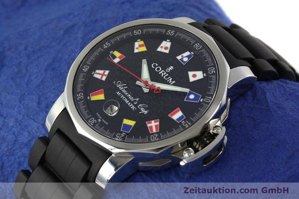 Used luxury watch Corum Admirals Cup steel automatic Kal. ETA 2892 A2 Ref. 082.831.20  | 150075 01