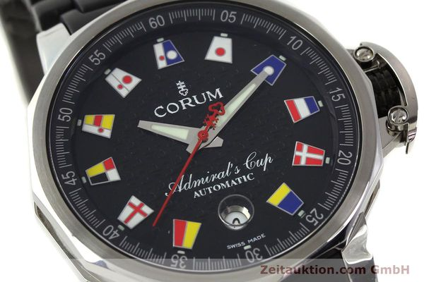 Used luxury watch Corum Admirals Cup steel automatic Kal. ETA 2892 A2 Ref. 082.831.20  | 150075 02