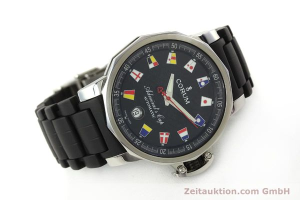 Used luxury watch Corum Admirals Cup steel automatic Kal. ETA 2892 A2 Ref. 082.831.20  | 150075 03