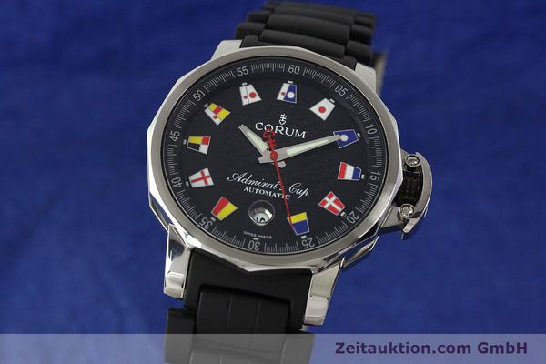 Used luxury watch Corum Admirals Cup steel automatic Kal. ETA 2892 A2 Ref. 082.831.20  | 150075 04