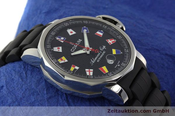 Used luxury watch Corum Admirals Cup steel automatic Kal. ETA 2892 A2 Ref. 082.831.20  | 150075 13