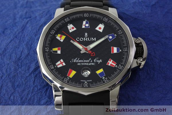 Used luxury watch Corum Admirals Cup steel automatic Kal. ETA 2892 A2 Ref. 082.831.20  | 150075 14