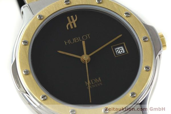 Used luxury watch Hublot MDM steel / gold quartz Kal. ETA 956.112 Ref. 13911002  | 150082 02