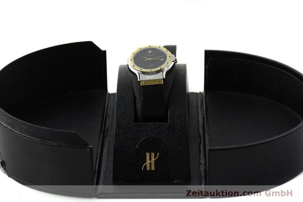 Used luxury watch Hublot MDM steel / gold quartz Kal. ETA 956.112 Ref. 13911002  | 150082 07