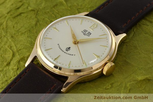 Used luxury watch Glashütte * gold-plated manual winding Kal. 60.3  | 150087 01
