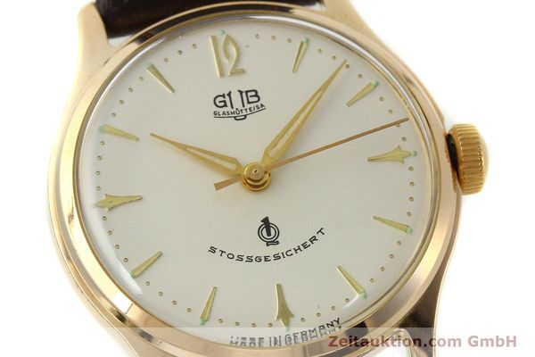 Used luxury watch Glashütte * gold-plated manual winding Kal. 60.3  | 150087 02