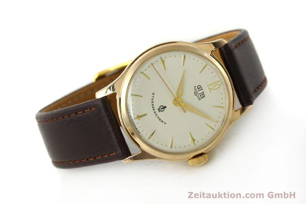 Used luxury watch Glashütte * gold-plated manual winding Kal. 60.3  | 150087 03