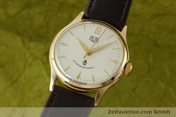 Used luxury watch Glashütte * gold-plated manual winding Kal. 60.3  | 150087 04