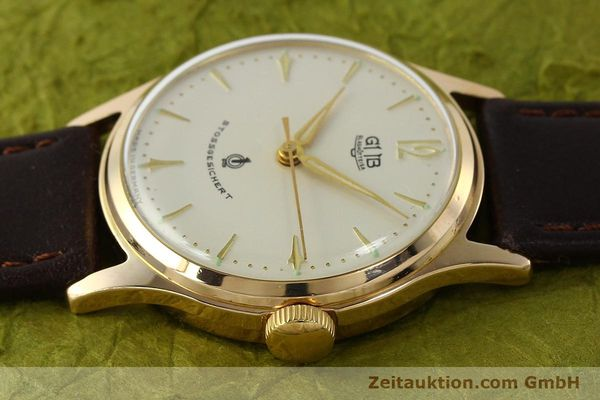 Used luxury watch Glashütte * gold-plated manual winding Kal. 60.3  | 150087 05