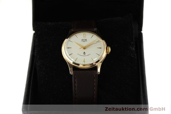 Used luxury watch Glashütte * gold-plated manual winding Kal. 60.3  | 150087 07