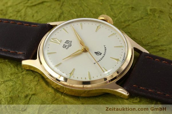 Used luxury watch Glashütte * gold-plated manual winding Kal. 60.3  | 150087 12