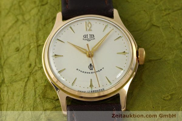Used luxury watch Glashütte * gold-plated manual winding Kal. 60.3  | 150087 13