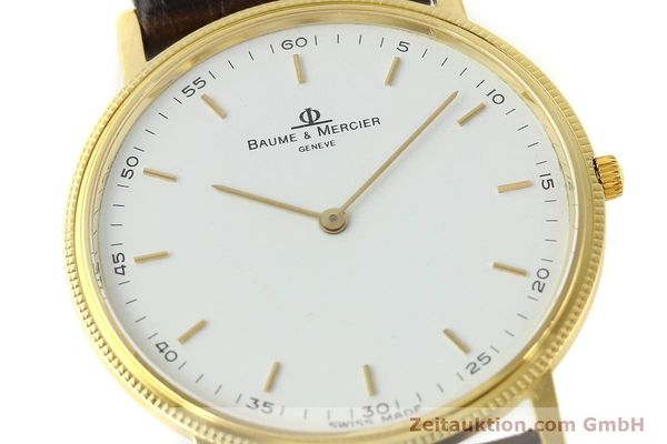 Used luxury watch Baume & Mercier * 18 ct gold quartz Kal. BM9098 ETA 210001 Ref. 15603005  | 150090 02