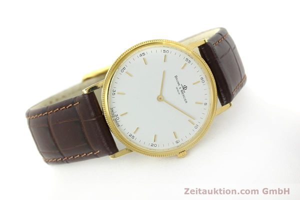 Used luxury watch Baume & Mercier * 18 ct gold quartz Kal. BM9098 ETA 210001 Ref. 15603005  | 150090 03