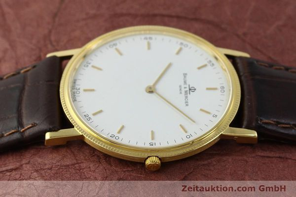 Used luxury watch Baume & Mercier * 18 ct gold quartz Kal. BM9098 ETA 210001 Ref. 15603005  | 150090 05