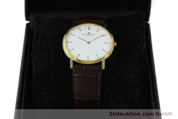 Used luxury watch Baume & Mercier * 18 ct gold quartz Kal. BM9098 ETA 210001 Ref. 15603005  | 150090 07