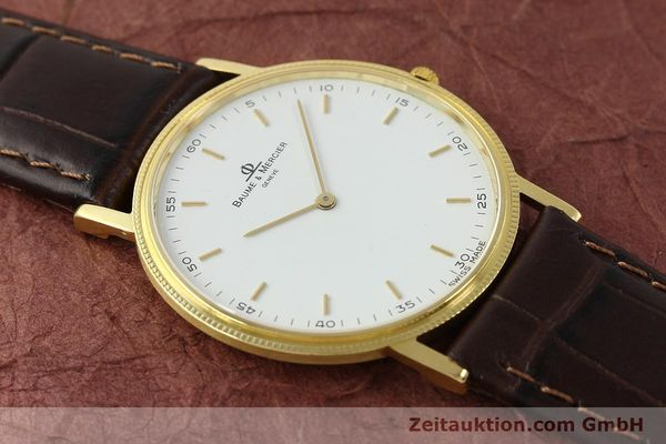 Used luxury watch Baume & Mercier * 18 ct gold quartz Kal. BM9098 ETA 210001 Ref. 15603005  | 150090 11