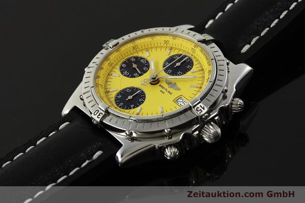 Used luxury watch Breitling Chronomat chronograph steel automatic Kal. B13 ETA 7750 Ref. A13050.1  | 150092 01