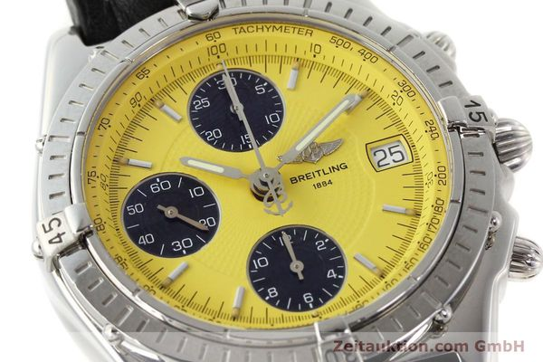 Used luxury watch Breitling Chronomat chronograph steel automatic Kal. B13 ETA 7750 Ref. A13050.1  | 150092 02