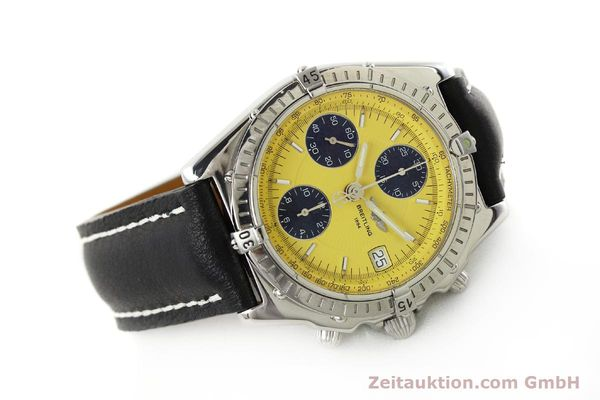Used luxury watch Breitling Chronomat chronograph steel automatic Kal. B13 ETA 7750 Ref. A13050.1  | 150092 03