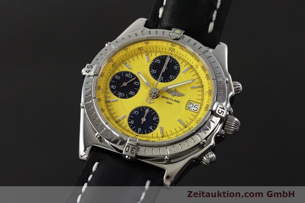 Used luxury watch Breitling Chronomat chronograph steel automatic Kal. B13 ETA 7750 Ref. A13050.1  | 150092 04