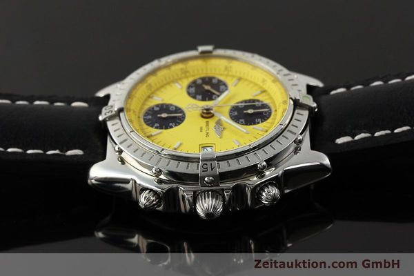 Used luxury watch Breitling Chronomat chronograph steel automatic Kal. B13 ETA 7750 Ref. A13050.1  | 150092 05