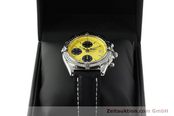 Used luxury watch Breitling Chronomat chronograph steel automatic Kal. B13 ETA 7750 Ref. A13050.1  | 150092 07