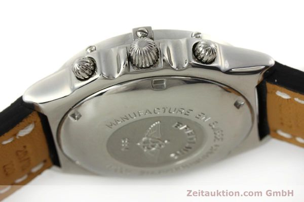 Used luxury watch Breitling Chronomat chronograph steel automatic Kal. B13 ETA 7750 Ref. A13050.1  | 150092 08