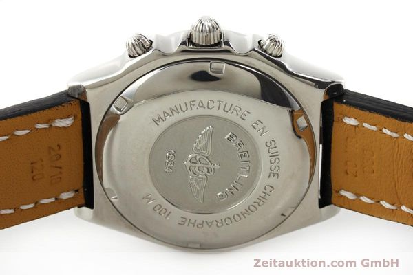 Used luxury watch Breitling Chronomat chronograph steel automatic Kal. B13 ETA 7750 Ref. A13050.1  | 150092 09