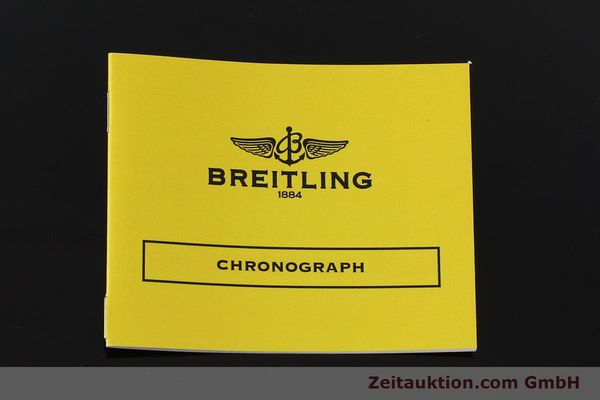 Used luxury watch Breitling Chronomat chronograph steel automatic Kal. B13 ETA 7750 Ref. A13050.1  | 150092 12