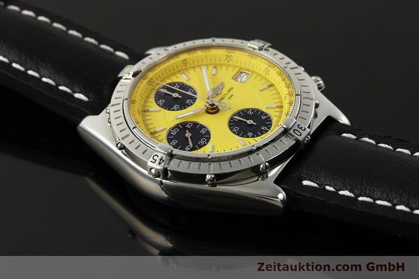 Used luxury watch Breitling Chronomat chronograph steel automatic Kal. B13 ETA 7750 Ref. A13050.1  | 150092 15