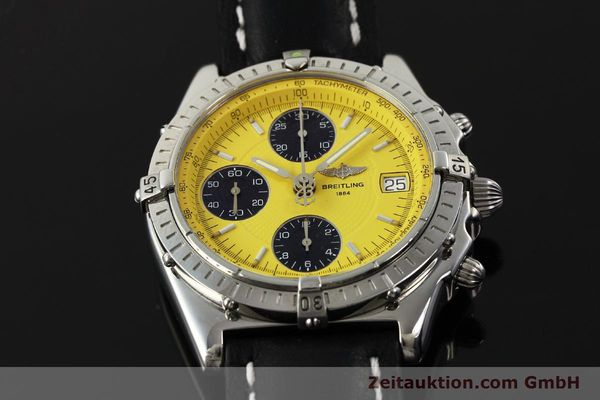 Used luxury watch Breitling Chronomat chronograph steel automatic Kal. B13 ETA 7750 Ref. A13050.1  | 150092 16