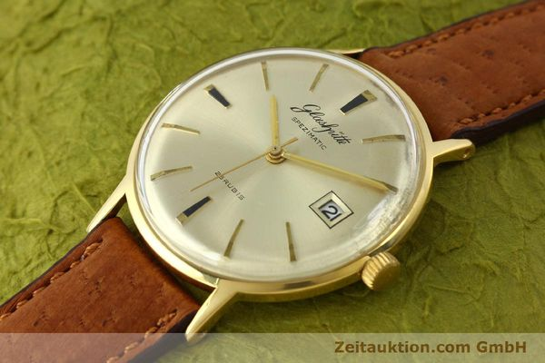 Used luxury watch Glashütte Spezimatic gold-plated automatic Kal. 75  | 150093 01