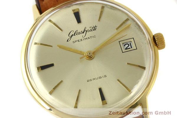 Used luxury watch Glashütte Spezimatic gold-plated automatic Kal. 75  | 150093 02