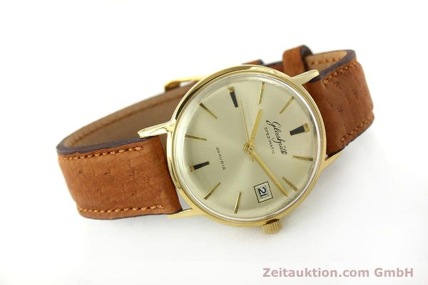 Used luxury watch Glashütte Spezimatic gold-plated automatic Kal. 75  | 150093 03
