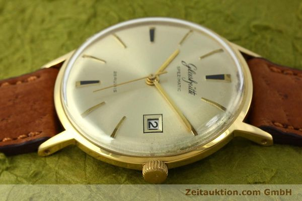 Used luxury watch Glashütte Spezimatic gold-plated automatic Kal. 75  | 150093 05