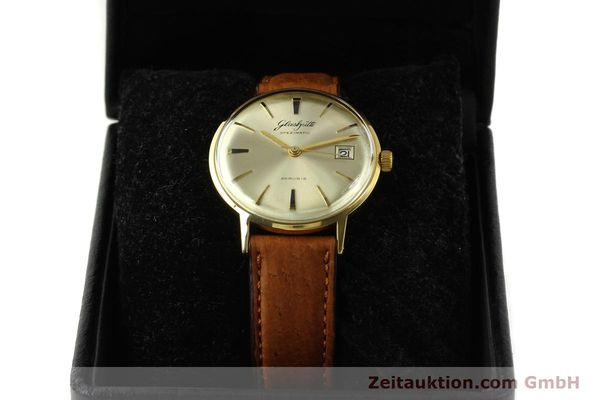 Used luxury watch Glashütte Spezimatic gold-plated automatic Kal. 75  | 150093 07