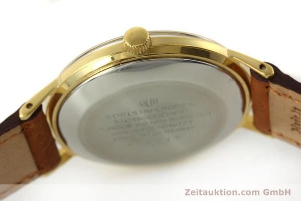 Used luxury watch Glashütte Spezimatic gold-plated automatic Kal. 75  | 150093 08
