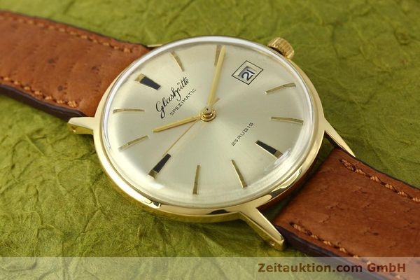 Used luxury watch Glashütte Spezimatic gold-plated automatic Kal. 75  | 150093 11