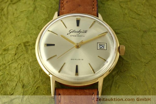Used luxury watch Glashütte Spezimatic gold-plated automatic Kal. 75  | 150093 12